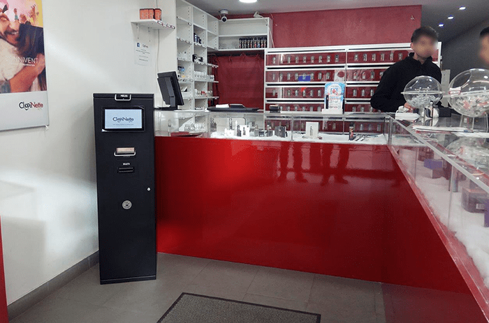 caisse automatique cash tower boutique