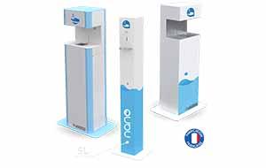 Lasergel – La distribution de solution hydroalcoolique sans contact